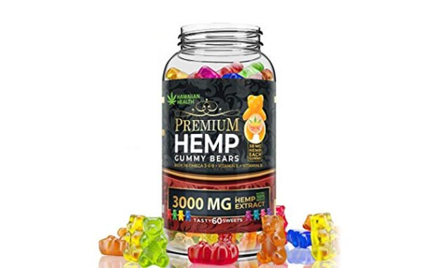 Hawaiian Health Premium Hemp Oil Gummies